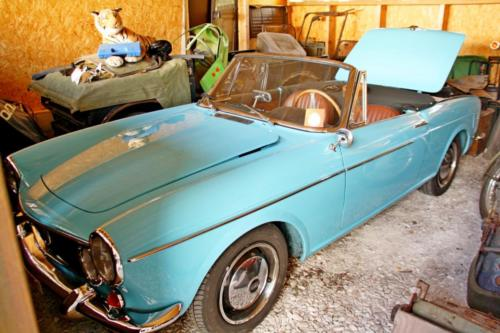 902 fertig restauriert: Fiat 1600 S von 1964
