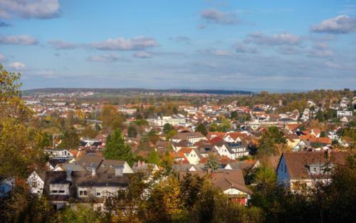 Blick von der Freudenberg Anlage