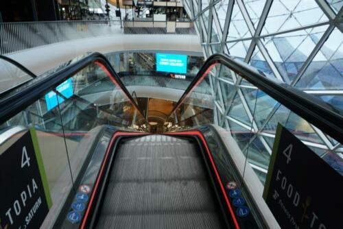 Europas längste Rolltreppe in MyZeil